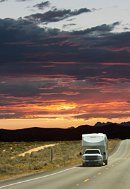 Snowbird, RV and travel trailer insurance